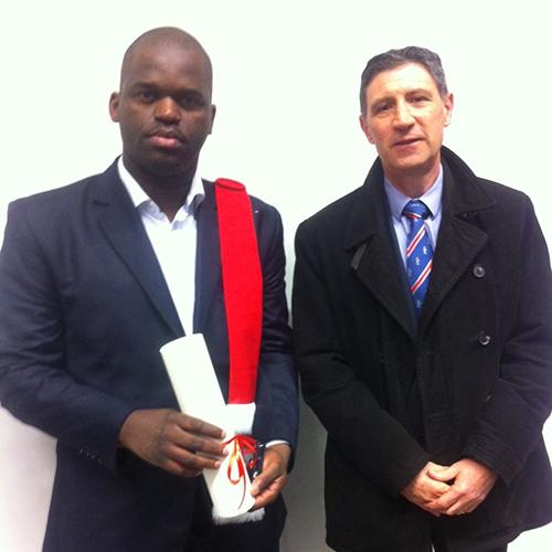 Cérémonie de remise des épitoges 2015, Jean-Marc Essono Nguema
